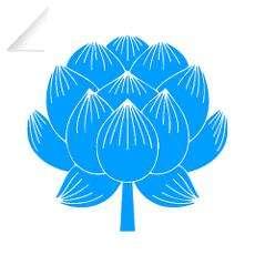 Lotus Flower Yoga Wall Decal
