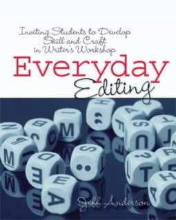 everyday editing jeff anderson paperback $ 15 21
