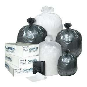 Inteplast Group IBS EC243306K High Density Commercial Can Liners 24x33