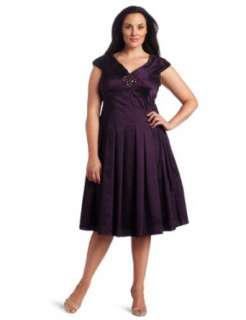 Jessica Howard Womens Shawl Collar V Neck Dress with