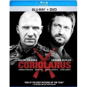 Coriolanus [Blu ray] Ralph Fiennes, Gerard Butler Movies