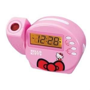 Exclusive Hello Kitty KT3004 Projection Alarm Clock Radio