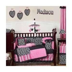 Madison 9 Piece Crib Set   Baby Girl Bedding: Baby