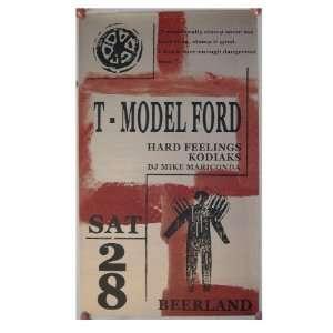 Model Ford Poser Hard Feelings  Model Silkscreen