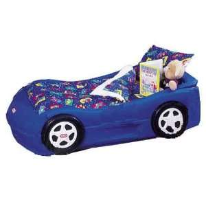 Baby Doll Bedding Racing Cars Toddler Bedding Set, Blue