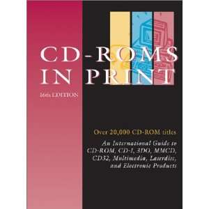 CD ROMs in Print (9780787655242) Books