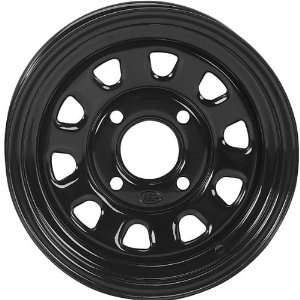 Steel Wheel   12x7   2+5 Offset   4/4   Black, Wheel Rim Size 12x7