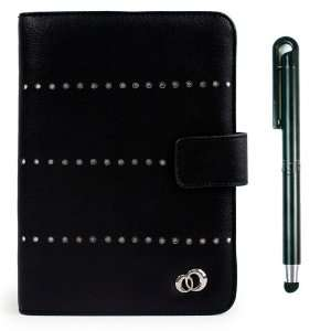 Black Leather Folio Case for 7 inch Android Based