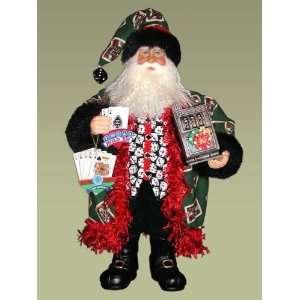 Karen Didion Originals 20 Heirloom Gameroom Santa #CC20