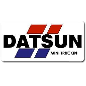 Datsun Mini Truckin Car Bumper Sticker Decal 6x3