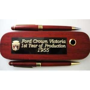 Ford Crown Victoria Pen & Pencil Set(Circa 1955