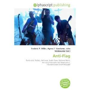 Anti Flag (9786132907066): Books