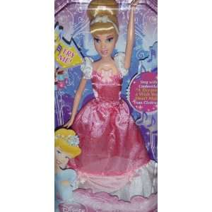 Disney Princess Cinderella Sing Along Doll Toys & Games