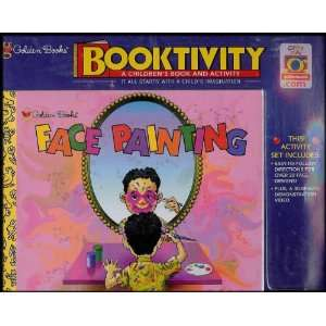 Booktivity Face Painting Video and Illustrated Handbook