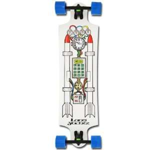 Landyachtz Time Machine 38 X 10 w/Bear Trucks and 76mm 78a