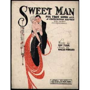 Sweet Man: Maceo (Music) / Turk, Roy (Lyrics) Pinkard: Books