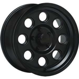 Black Rock Yuma 16x8 Black Wheel / Rim 5x5.5 with a 0mm Offset and a