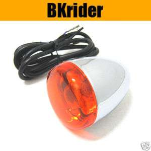 Front Deuce Style Amber Turn Signal Light for Harley