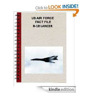 US AIR FORCE FACT FILE B 1B LANCER: USAF:  Kindle Store