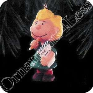 Hallmark Ornament 1996 Peanuts Gang #4   Sally   QX5381