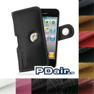 PDair Genuine Leather Case for Apple iPhone 4 4G   Horizontal Pouch