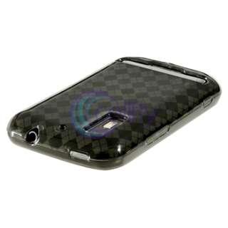 Black Waterproof Case Bag+Smoke TPU Gel Cover+3 LCD for Motorola