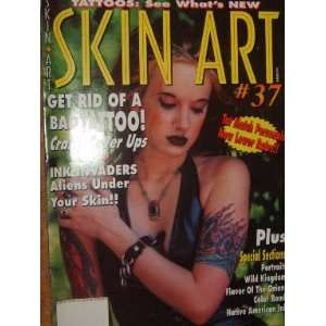 Skin Art Magazine Portait Tattoos: staff: Books