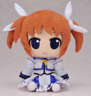 GIFT Magical Girl Nendoroid Plushie Nanoha Plush doll