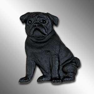 PUG Black Best Friends MAGNET Unbreakable NEW