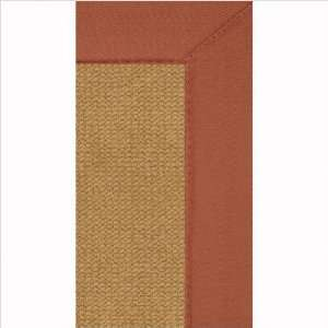 Linon Rugs AT0310 Athena Cork / Burnt Orange Contemporary