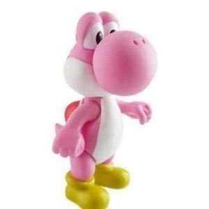 Nintendo Super Mario Bros. 9 inch Pink Yoshi Vinyl Action