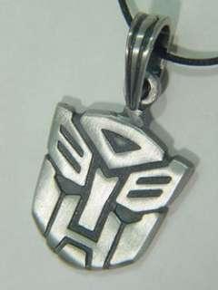 BUTW Transformers Autobot symbol pewter pendant 5000B