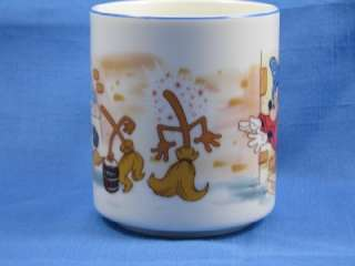 Disneyland Mickey Mouse Sorcerers Apprentic Magic Mug