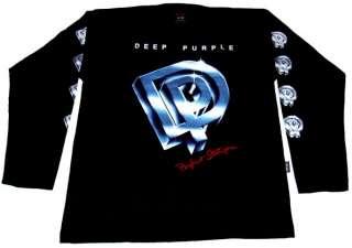 DEEP PURPLE  T SHIRT Long Sleeve   Perfect Stranger   L   NEUF