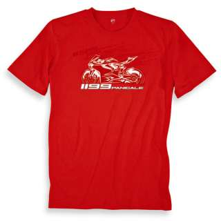 DUCATI 1199 PANIGALE SHORT SLEEVE T SHIRT ALL SIZES NWT NEW FOR 2012