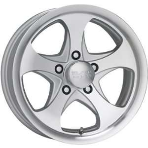 Black Rock Intrepid Trailer 15x6 Silver Wheel / Rim 5x4.5