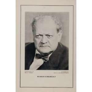 1927 Silent Film Star Rudolph Schildkraut De Mille