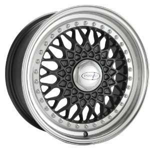16x7 Privat Remember (Black w/ Machined Lip) Wheels/Rims