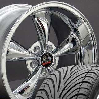 18 9/10 Chrome Bullitt Wheels Nexen Tires Rims Fit Mustang® 94 04