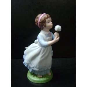 Wishful houghs Porcelain Figurine