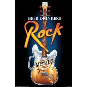 Meister Brew Poster Rockers Beer New Bar Sign 8897