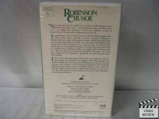 Robinson Crusoe VHS Classics for Kids Collection