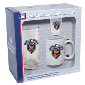 San Francisco Giants 2010 World Series Champions 3 Piece
