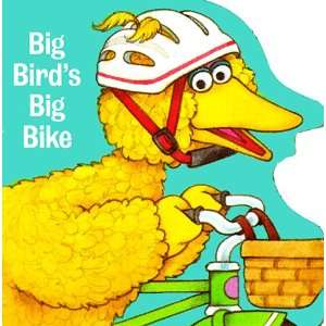 Big Birds Big Bike (Board Book) (9780679832713) Sesame Street Books