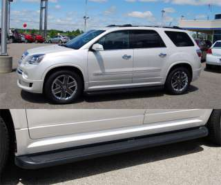 DENALI Running Boards Steps 67085 Matte Black Trim 2011 2012