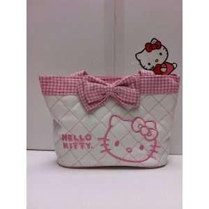 New Arrival Sanrio Hello Kitty Double Stripes Elegant Carryout Purse