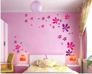 Lucky leaves Deco Mural Art Wall Sticker Decal S011 (various colors