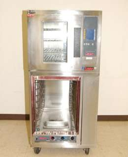 Lang 1/2 Size Electric Convection Oven & Full Size Proofer, Models EHS