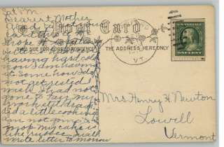 Old Postcard James Whitcomb RileyNoticed Success