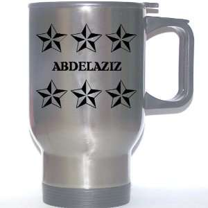 Personal Name Gift   ABDELAZIZ Stainless Steel Mug